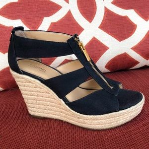 Michael Kors Damita Platform Wedge Sandals